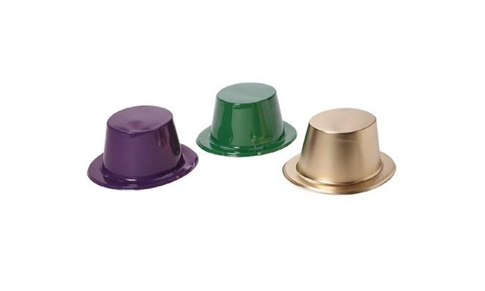 Mardi Gras Top Hats-1 Dozen