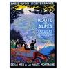 La Route des Alpes Canvas Print 24 x 32