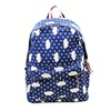 Cloud Design Red White And Blue Canvas Unisex School Backpack