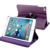 Insten 360 Degree PU Leather Flip Stand Case For iPad Mini 4 - Purple
