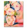 Sheila Golden Henris Bouquet Canvas Print