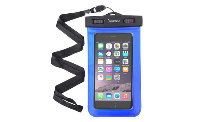 Case Design nutshell phone cases : Insten Blue Waterproof Bag Case Pouch with Lanyard for iPhone 6 6SPlus ...