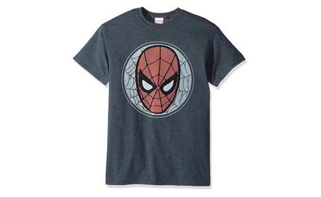 Marvel Men's Spiderman Face T-Shirt 1eab9237-039e-4ada-967a-0eb2baf26948