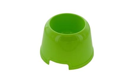 Bulk Buys Tall Plastic Pet Bowl - Pack Of 8 5173d599-76ee-4a3f-946a-92eddb061371