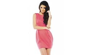 Groupon Goods: AX Paris Balloon Skirt Scuba  Dress