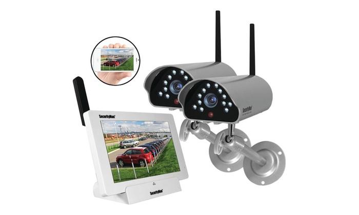 Securityman Indoor/outdoor Isecurity Digital Wireless Camera System