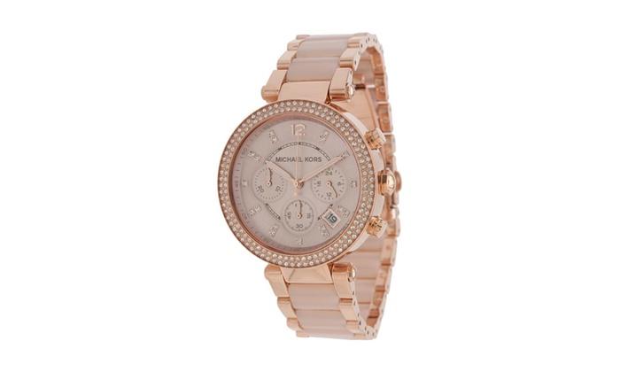 2318a290520d Michael Kors Women's MK5896 Parker Watch | Groupon