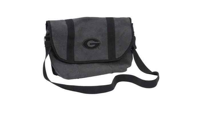 Georgia Varsity Messenger Bag