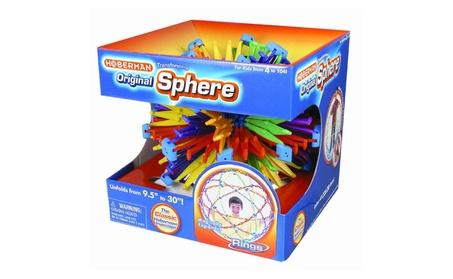 Tedco Toys HS124 Hoberman Original Sphere Toy - Rings 4e0c8630-05eb-4e3d-b1c7-dff044fcb9df