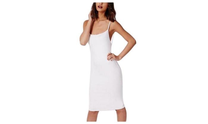 Women's Fashion High Rise HiddenZipper Pullover Dresses