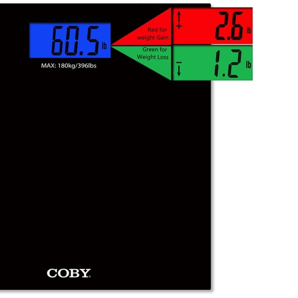d0f95d9bf69 COBY Weight Comparison Digital Bathroom Scale | Groupon