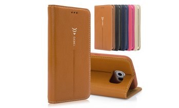 Flip Leather Wallet Case for Samsung Galaxy S6 / S6 Edge / S7 /S7 Edge