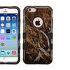 Insten Vines Hybrid Coated Silicone Case For Iphone 6 6s Yellow Blk
