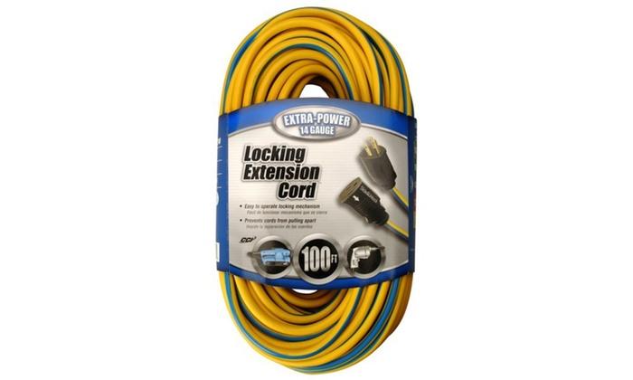 Cord Ext14-3pshlk100