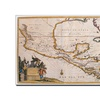 Map of New Spain 1625 Canvas Print