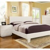 Trento 4 Pieces Bed Room Set In White Finish