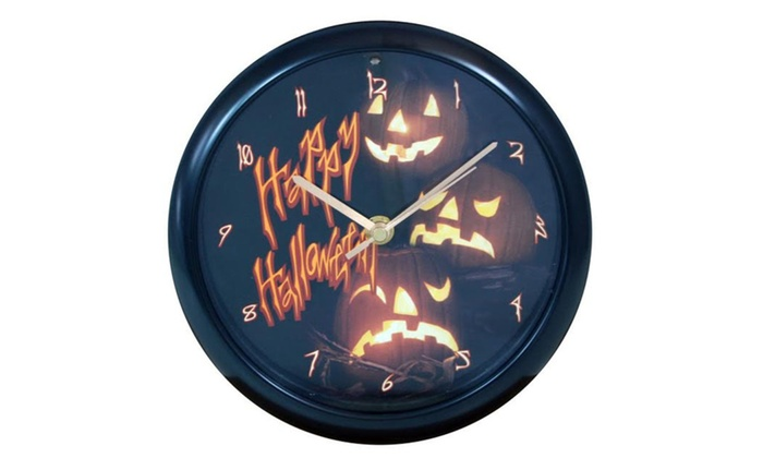 Perfect Halloween Clock With Scary Sounds