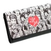 I Love Lucy Lucille Ball Classic Vintage Black White Tri-Fold Wallet