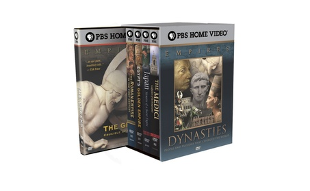 Empires Collection: The Dynasties DVD 5PK 50ec8504-9cc5-46af-98b9-913e180ddc34