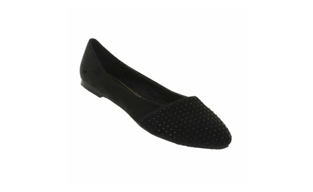 Red Circle Women's Leona Pointy Flat With Iron Stone a37157fd-6f01-4fd3-aee8-f433e15143b9