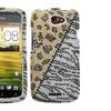 Insten Hottie Diamante Phone Case for HTC: One S