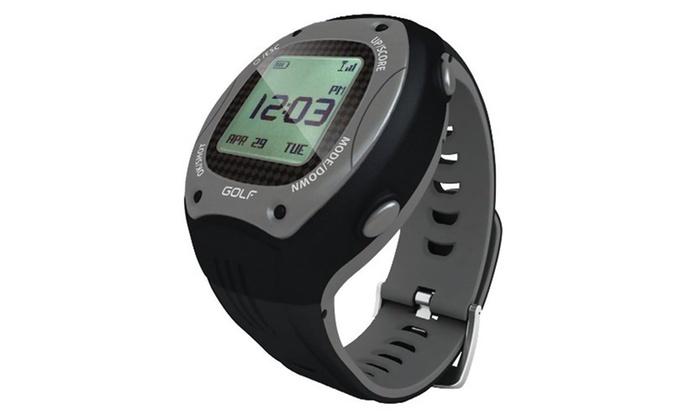 ScoreBand Golf GPS Watch and Scorecard - Black/Gray