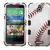Insten Baseball Hard Hybrid Case For HTC Desire 510 - Red/White