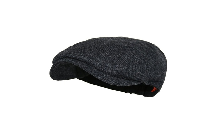 4194645a7fa Up To 8% Off on Men s wool blend newsboy cap ...