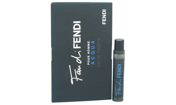 Groupon Goods: Fendi Fan Di Fendi Acqua Men EDT Spray Vial (Mini)