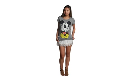 Cute Mickey Front & Back Crewneck