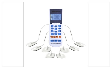 15 Modes Electrotherapy TENS Unit Digital Pain Relief Massage - Original White Pin 6ca1e690-08c8-4441-8795-5c965aec7f9f