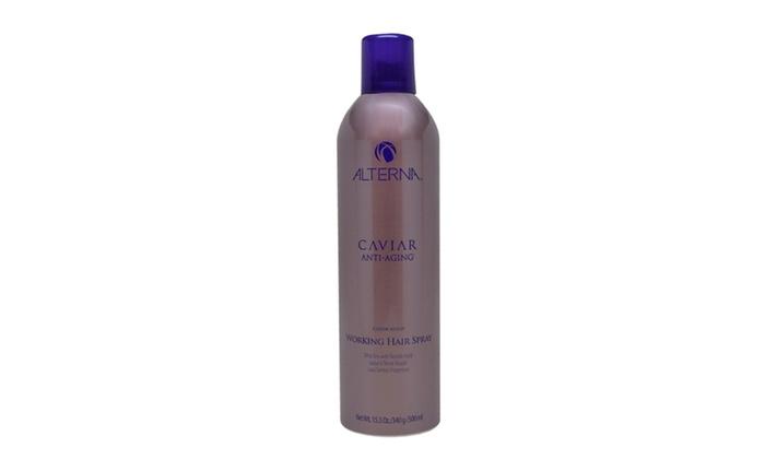 26ac539547a4 Alterna Caviar Anti-Aging Working Hair Spray for Men and Women (15.5 Oz.)