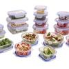 Kinetic GoGreen Glassworks Elements 36-Piece Food Storage Set