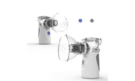 Portable Ultrasonic Mini Nebulizer Inhaler Children Adult Rechargeable Handheld