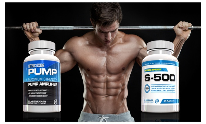 Buy It Now : Male Performance Kit, Nitric Oxide and S-500 Male Supplement