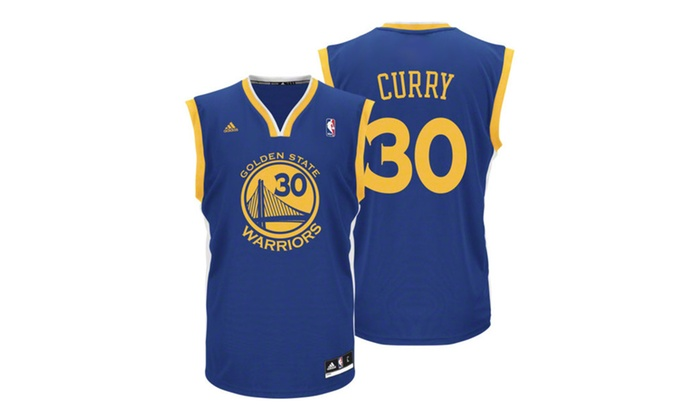 online store c9dee ce464 Mens Golden State Warriors Stephen Curry Adidas Royal Blue Jersey