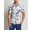 JACHS Classic Fit Tropical Short Sleeve Shirt