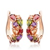 Fashion Bridal Jewelry Women Crystal Earrings