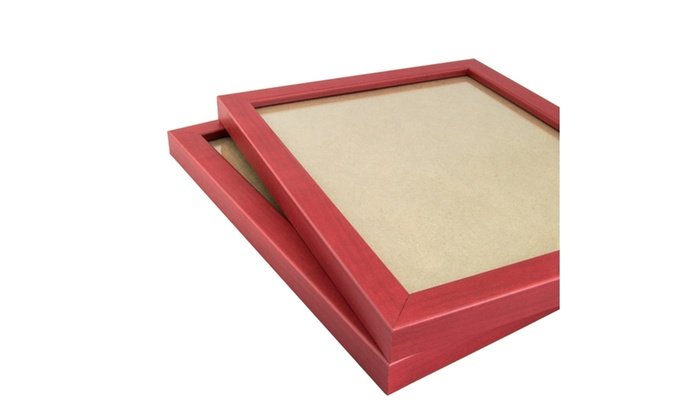 11x17 Inch Red Picture Frame, 2-piece Set | Groupon