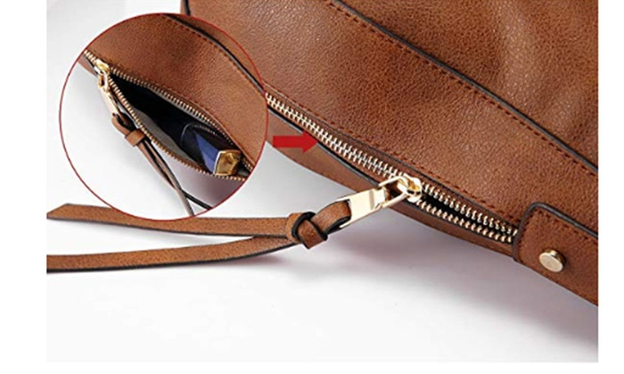 ... Shoulder Bags for Women Large Ladies Crossbody Bag with Tassel ... a726101196c0e
