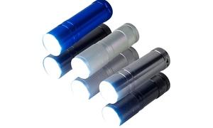 6 Pack Aluminum 9-LED Flashli...