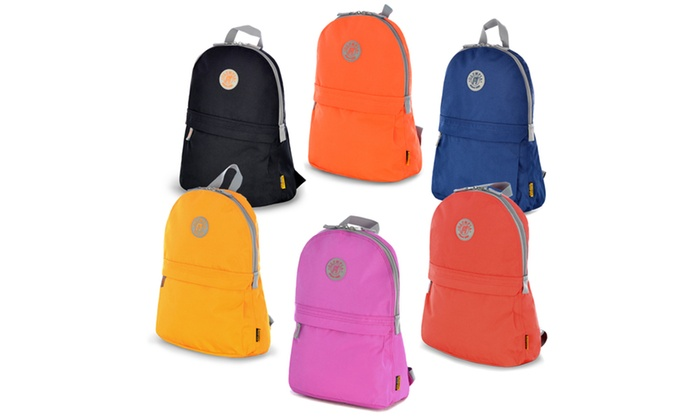 "OLYMPIA USA ""ACADEMY"" 17″ ECO-FRIENDLY BACKPACK"