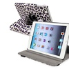 Insten Leather Stand Case For iPad Mini 3 2 1 White Purple Leopard