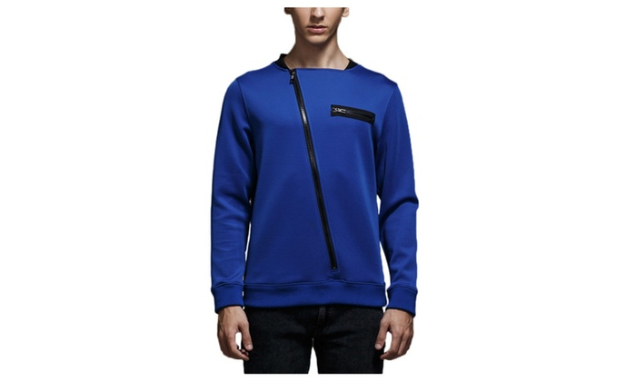 Shefetch Men's Slim Autumn Fashion Sweatshirts