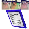 """Insten 7 Colors Automatic Changing 10"""" Square LED Rain Top Shower Head"""