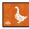 """Goose Butchers Chart, 7""""x9""""Print on Canvas, Custom Framed Art Décor"""