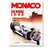 Monaco 1948 Canvas Print