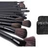 Pro 32-Piece Makeup-Brush Set with Vegan-Leather Travel Bag