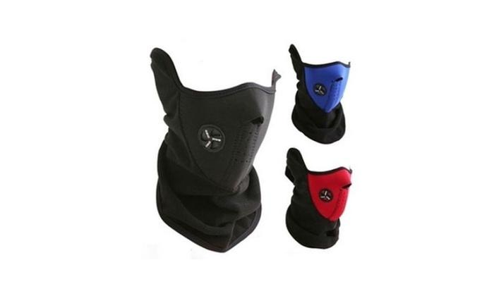 Children Instant Warming Ventilated Fleece Ski Mask