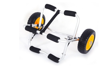 Deluxe Boat Kayak Canoe Carrier Dolly Trailer Tote Trolley Transport d03204ef-669c-4c69-9593-fb2309a3a452